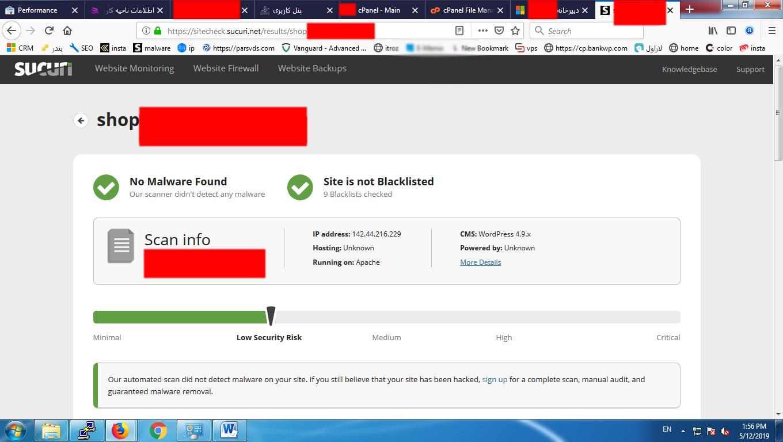 ویروس کشی وب سایت وردپرس و ازبین بردن Malware | حذف بدافزار سایت