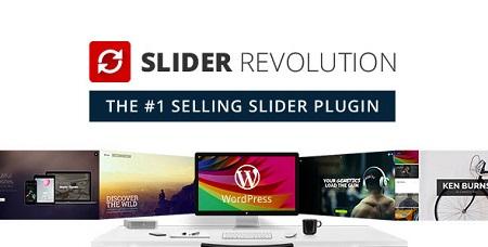 دانلود افزونه نال شده Slider Revolution ایجاد اسلایدر در وردپرس نسخه آخر