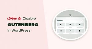 دانلود افزونه Disable Gutenberg