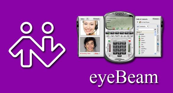 دانلود تلفن نرم افزاری eyeBeam آخرین ورژن همراه با کرک و آموزش نرم افزار eyeBeam